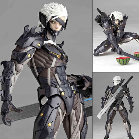 Revoltech Yamaguchi 140 Raiden from Metal Gear Rising Revengeance Kaiyodo [SOLD OUT]