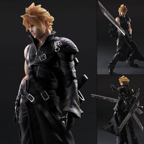 Play Arts Kai Cloud Strife from Final Fantasy 7 Advent Children Re-Release Square Enix [SOLD OUT]
