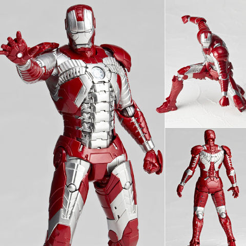 Legacy of Revoltech LR-024 Iron Man Mk V (Mark 5) Kaiyodo [SOLD OUT]
