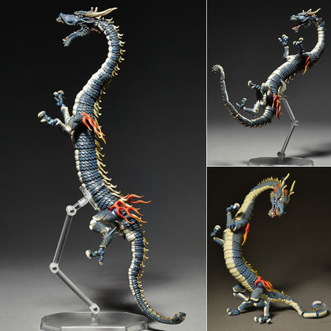 KT Project KT-004 Takeya Style Jizai Okimono Ryu Dragon Full Color Version Revoltech [SOLD OUT]