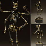 KT Project KT-005 Takeya Style Jizai Okimono Gaikotsu Skeleton Iron Rust Look Kaiyodo [SOLD OUT]