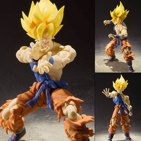 S.H.Figuarts Super Saiyan Son Goku Super Warrior Awakening Ver. from Dragon Ball Z [SOLD OUT]
