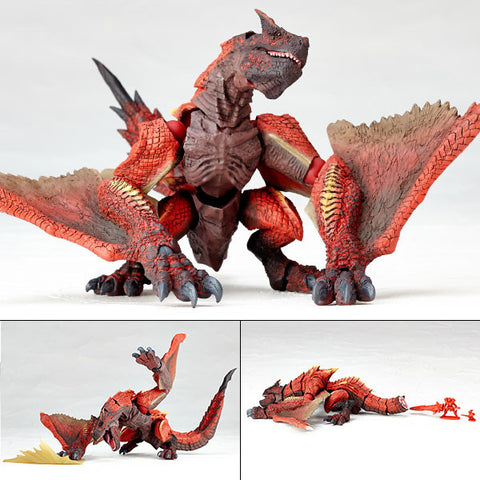 Vulcanlog 003 Molten Tigrex Subspecies from Monster Hunter Revoltech Union Creative [SOLD OUT]