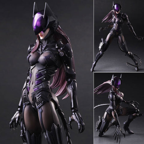 Play Arts Kai Variant Catwoman Designed by Tetsuya Nomura DC Comics Square Enix [SOLD OUT]