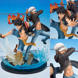 PVC Figuarts ZERO Monkey D. Luffy + Trafalgar Law 5th Anniversary Edition from One Piece [SOLD OUT]