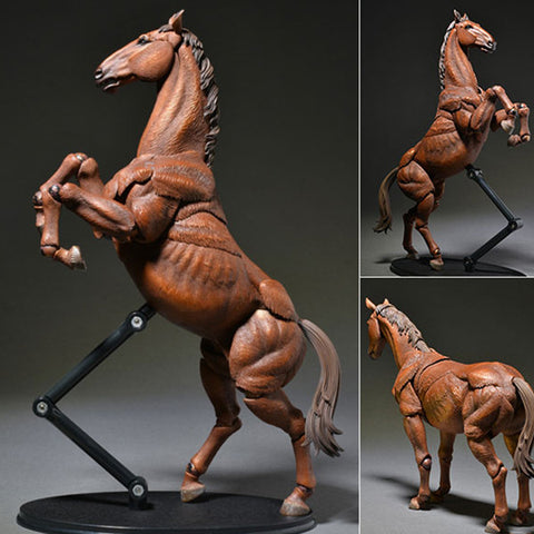 KT Project KT-008 Takeya Style Jizai Okimono Horse Color Version Revoltech Kaiyodo [SOLD OUT]