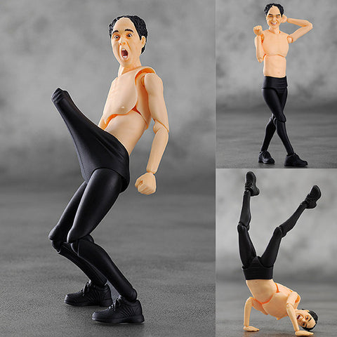 Figma 177 Egashira 2:50 Japanese Comedian Action Figure FREEing [IN STOCK]