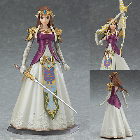 Figma 318 Zelda Twilight Princess Ver. from The Legend of Zelda: Twilight Princess [IN STOCK]