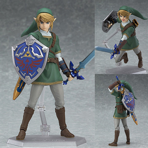 Figma 319 Link Twilight Princess Ver. from The Legend of Zelda: Twilight Princess Regular Edition [IN STOCK]