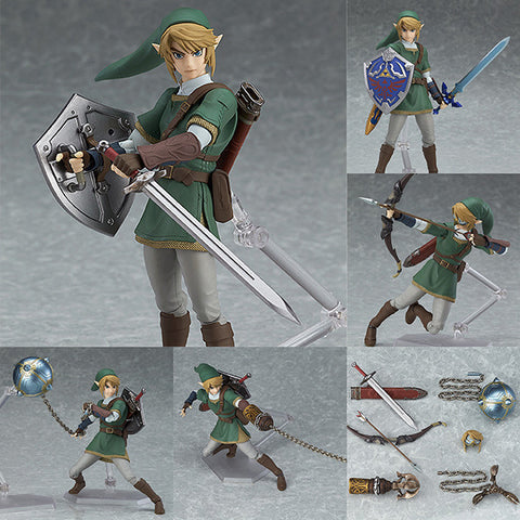 Figma 320 Link Twilight Princess Ver. from The Legend of Zelda: Twilight Princess DX Edition [SOLD OUT]