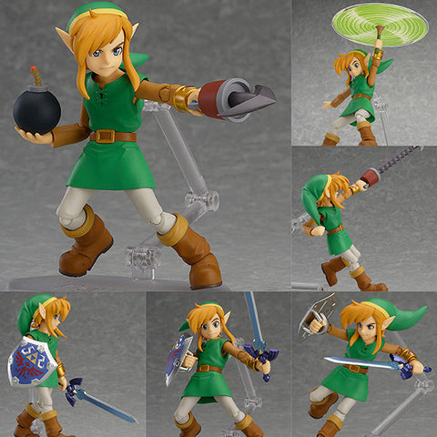 Figma EX-032 Link (A Link Between Worlds Vers.) - DX Edition from The Legend of Zelda A Link Between Worlds [SOLD OUT]