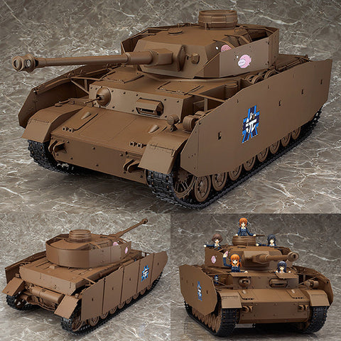 "Figma Vehicles 1/12 Panzer IV Ausf. H ""D-Spec"" from Girls und Panzer [SOLD OUT]"