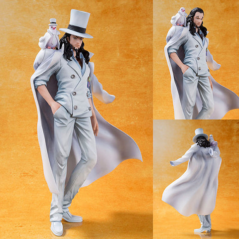 PVC Figuarts ZERO Rob Lucci from One Piece Film Gold Ver. [IN STOCK]