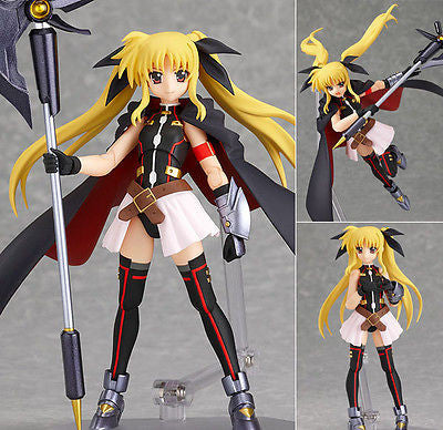 Figma 162 Fate Testarossa Lightning Form Magical Girl Lyrical Nanoha Max Factory [SOLD OUT]