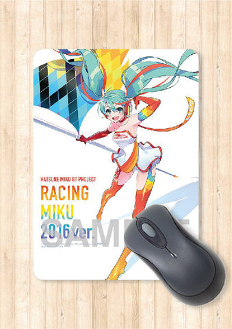 Miku Hatsune 2014 Racing version Anime Mouse Pad Part 3 Official Japan Limited