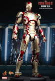 Hot Toys 1/6 Iron Man Mk XLII (Mark 42) Diecast Action Figure from Iron Man 3 Movie Masterpiece [SOLD OUT]