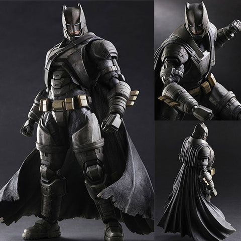 Play Arts Kai Armored Batman from Batman Vs Superman: Dawn of Justice DC Comics [IN STOCK]