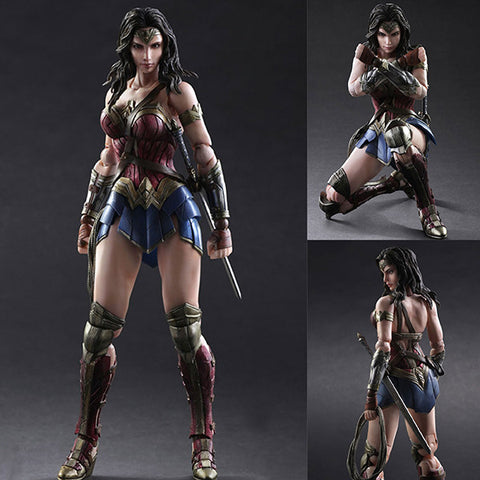 Play Arts Kai Wonder Woman from Batman Vs Superman: Dawn of Justice DC Comics [IN STOCK]