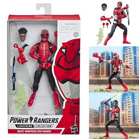 Power Rangers Lightning Collection Beast Morphers Red Ranger [IN STOCK]