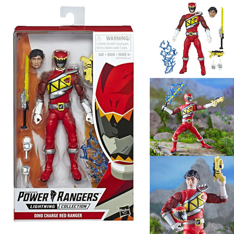 Power Rangers Lightning Collection Dino Charge Red Ranger [IN STOCK]