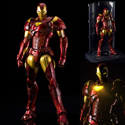 RE:EDIT Iron Man 02 Extremis Armor Action Figure Marvel Sentinel [IN STOCK]