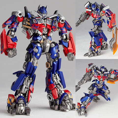 Legacy of Revoltech LR-049 Optimus Prime from Transformers: Dark Side of the Moon Kaiyodo [SOLD OUT]