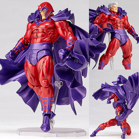 Revoltech Amazing Yamaguchi 006 Magneto from Marvel Comics [IN STOCK]
