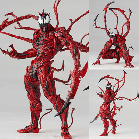 Revoltech Amazing Yamaguchi 008 Carnage from Marvel Comics [PRE-ORDER]