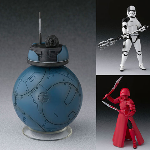S.H.Figuarts 2BB-2 + Elite Praetorian Guard with Double Blade + First Order Executioner from Star Wars: The Last Jedi [IN STOCK]