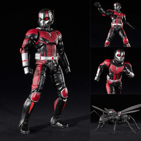 S.H.Figuarts Ant-Man (Ant-Man and the Wasp Ver.) + Ant Set from Ant-Man and the Wasp Marvel [PRE-ORDER]