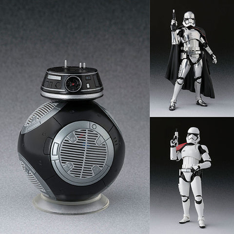 S.H.Figuarts BB-9E + Captain Phasma (The Last Jedi) + First Order Stormtrooper (The Last Jedi) Special Set from Star Wars: The Last Jedi [IN STOCK]