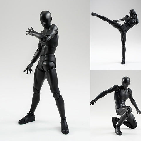 S.H.Figuarts Body-kun Solid Black Color Ver. Action Figure [IN STOCK]