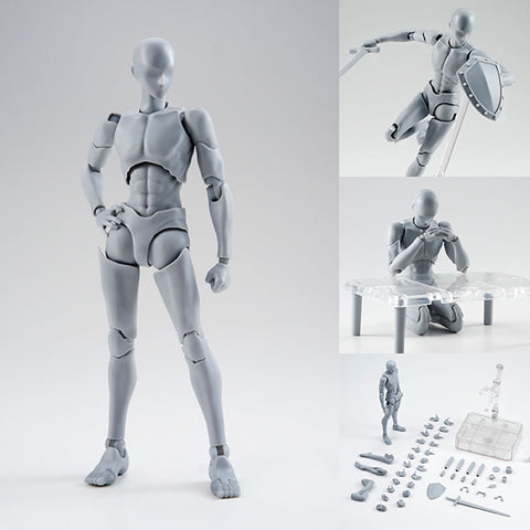 S.H.Figuarts Body-kun (Rihito Takarai Edition) DX Set (Gray Color Ver.) [SOLD OUT]