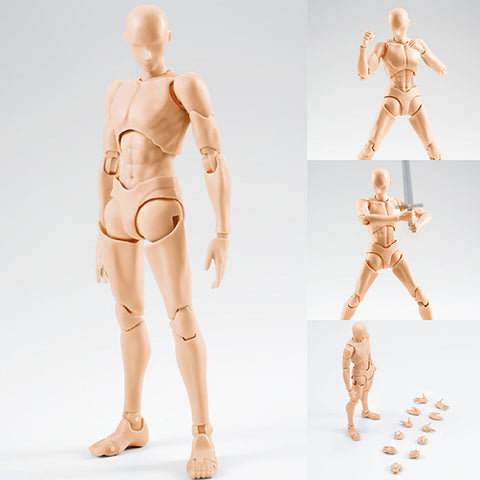 S.H.Figuarts Body-kun (Rihito Takarai Edition) (pale Orange Color Ver.) [IN STOCK]