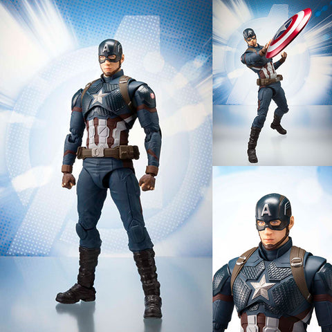 S.H.Figuarts Captain America from Avengers: Endgame Marvel [SOLD OUT]
