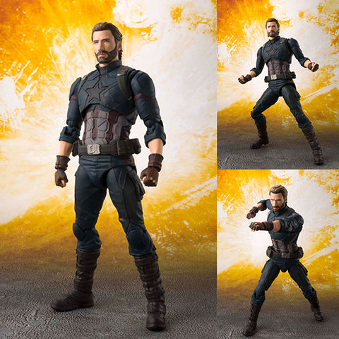 S.H.Figuarts Captain America from Avengers: Infinity War Marvel [IN STOCK]