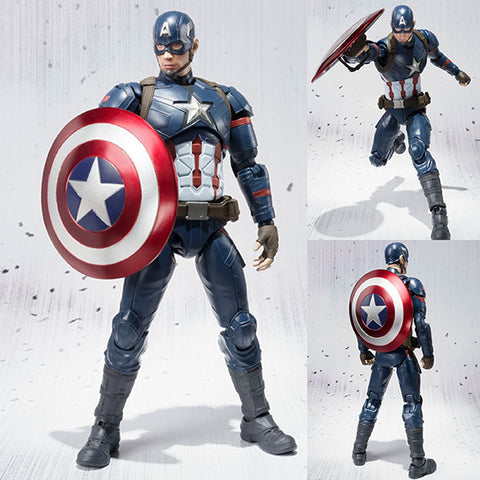 S.H.Figuarts Captain America Civil War Ver. from Captain America: Civil War Marvel [SOLD OUT]