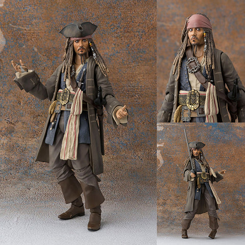 S.H.Figuarts Captain Jack Sparrow from Pirates of the Caribbean: Dead men tell no tales [PRE-ORDER]