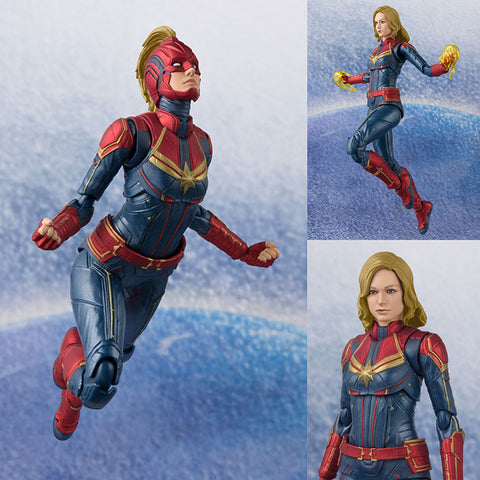S.H.Figuarts Captain Marvel (Carol Danvers) from Captain Marvel [IN STOCK]