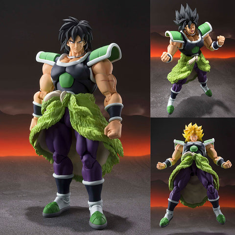S.H.Figuarts Broly (Super Version) from Dragon Ball Super: Broly [SOLD OUT]
