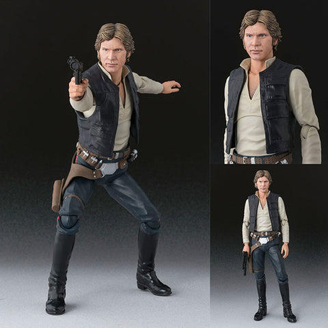S.H.Figuarts Han Solo from Star Wars Episode IV: A New Hope (July 2018 Rerelease) [IN STOCK]