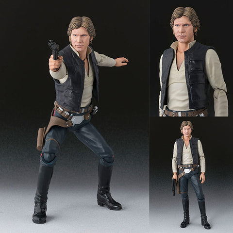 S.H.Figuarts Han Solo from Star Wars Episode IV: A New Hope [SOLD OUT]