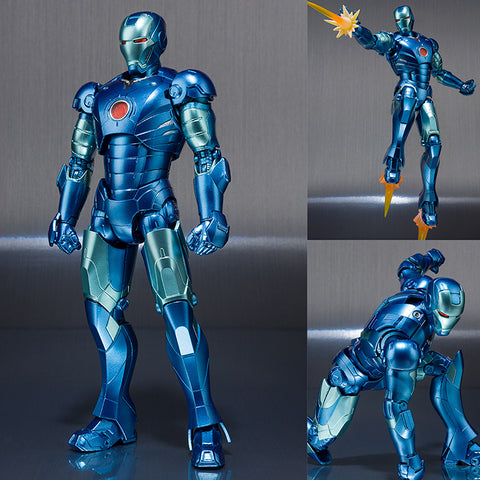 S.H.Figuarts Iron Man Mark 3 (Blue Stealth Color Version) Marvel [IN STOCK]