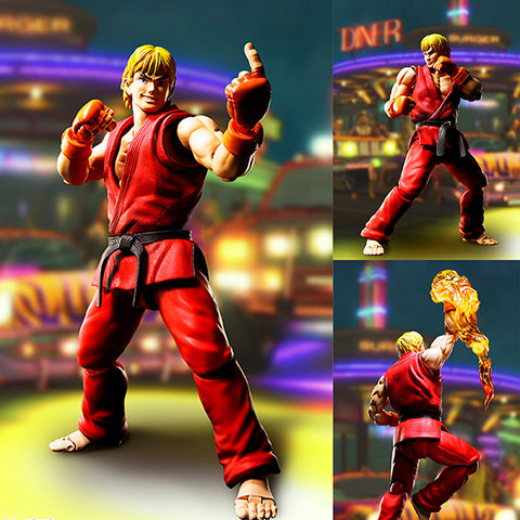 S.H.Figuarts Ken Masters from Street Fighter [PRE-ORDER]