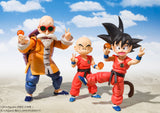 S.H.Figuarts Klilyn (Kuririn) (Childhood Version) from Dragon Ball [IN STOCK]