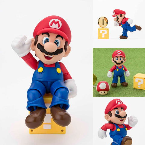 S.H.Figuarts Mario (Renewal Ver.) from Super Mario Bros [SOLD OUT]