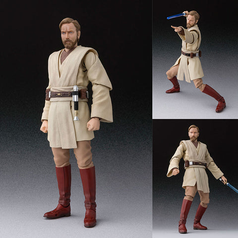 S.H.Figuarts Obi-Wan Kenobi (Revenge of the Sith Ver.) from Star Wars Episode III: Revenge of the Sith [IN STOCK]