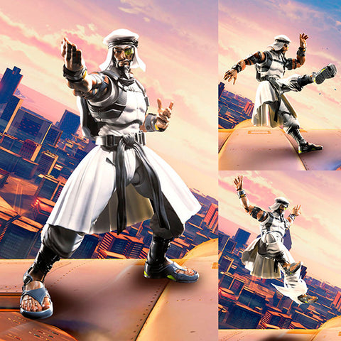 S.H.Figuarts Rashid from Street Fighter [PRE-ORDER]