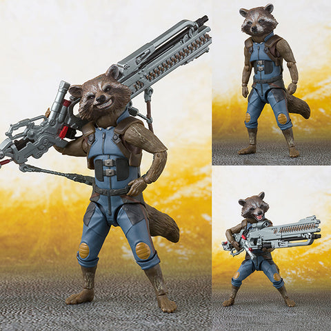 S.H.Figuarts Rocket Raccoon from Avengers: Infinity War Marvel [IN STOCK]