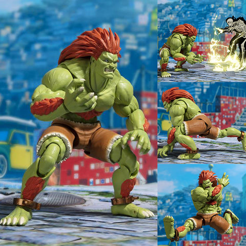 S.H.Figuarts Blanka from Street Fighter V [IN STOCK]